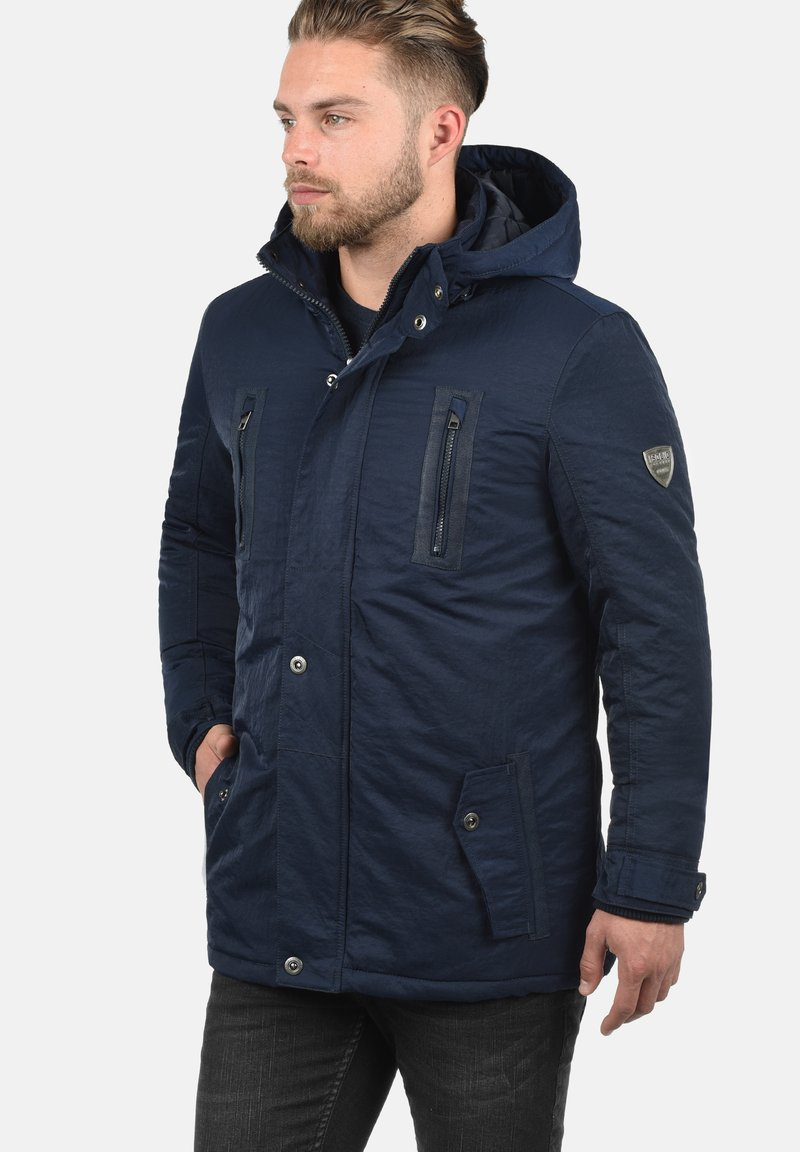 Solid - Winter jacket - insignia blue