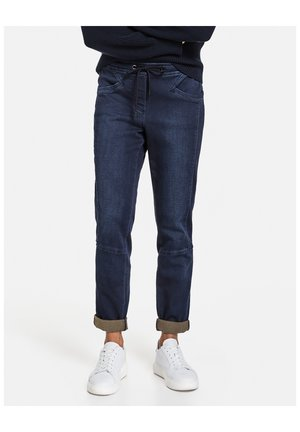 IM JOGSTYLE LOUNGE PANTS - Relaxed fit jeans - blue denim
