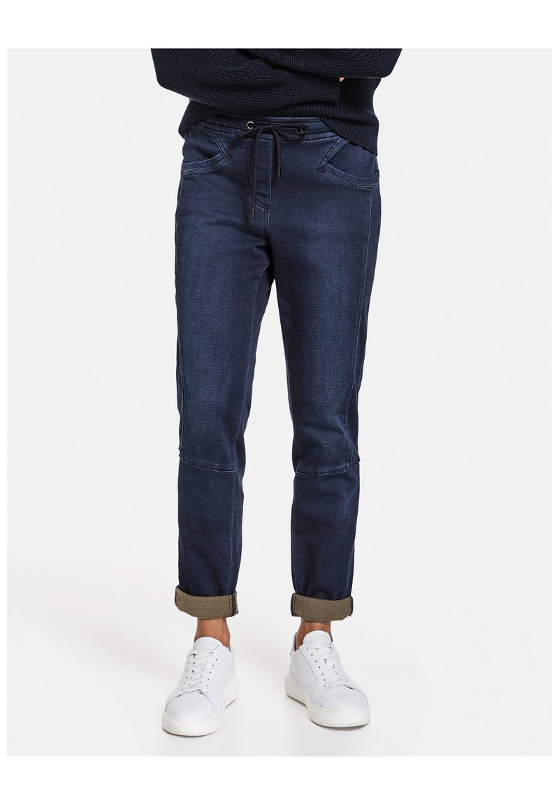 Taifun - IM JOGSTYLE LOUNGE PANTS - Relaxed fit jeans - blue denim