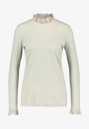 SLUB FRILL LONGSLEEVE - Long sleeved top - kitt