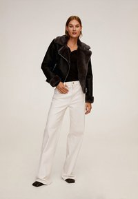 Mango - CADI - Faux leather jacket - schwarz - 1