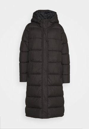 ONLNEWCAMMIE LONG QUILTED COAT - Winterjas - black