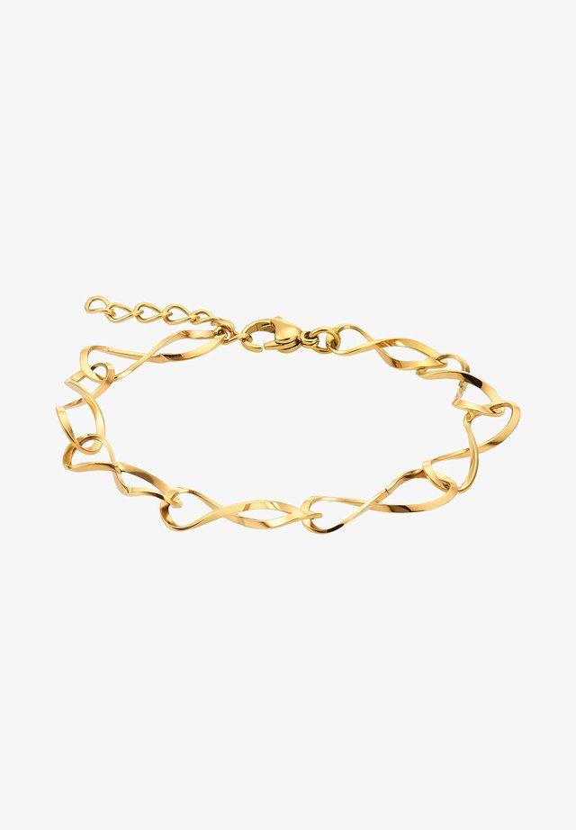 INFINITY  - Armband - goldfarbend