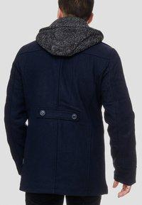 INDICODE JEANS - Krótki płaszcz - dark blue - 2