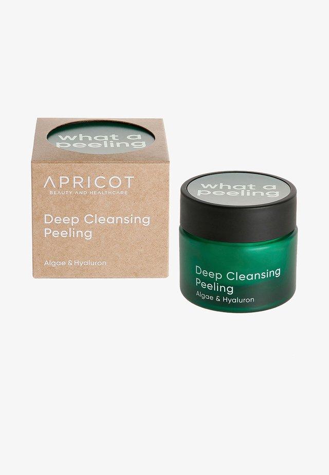DEEP CLEANSING PEELING - Ansiktsrengöring - -