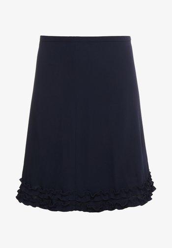 Mini skirt - ink navy