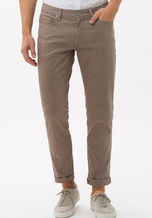 STYLE CADIZ - Pantalon classique - toffee