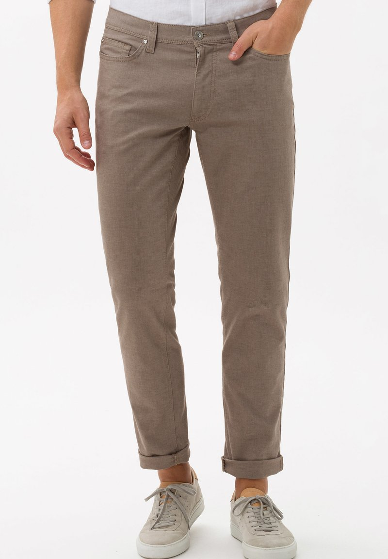BRAX - STYLE CADIZ - Trousers - toffee