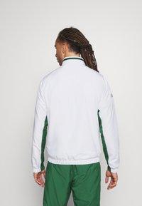 Lacoste Sport - SET TENNIS TRACKSUIT HOODED - Dres - white/green - 4