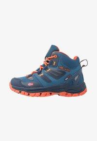 TrollKids - KIDS RONDANE HIKER MID - Hiking shoes - mystic blue/orange - 1