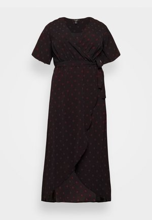 SPOT DRESS - Vestido informal - black