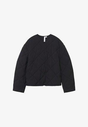 GEWATTEERDE - Lehká bunda - zwart
