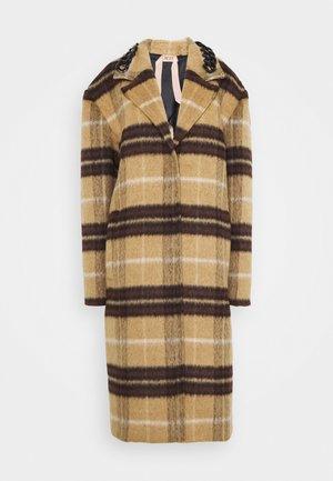 Classic coat - beige/nero