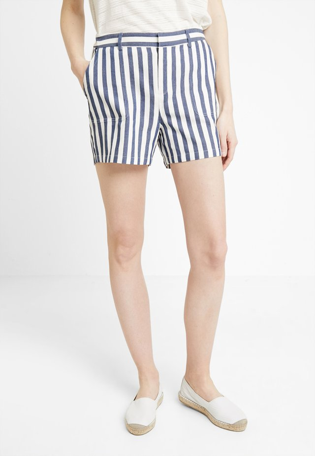 BOARDWALK STRIPE - Szorty - classic navy
