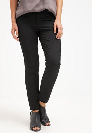 SLOAN SOLIDS - Trousers - black