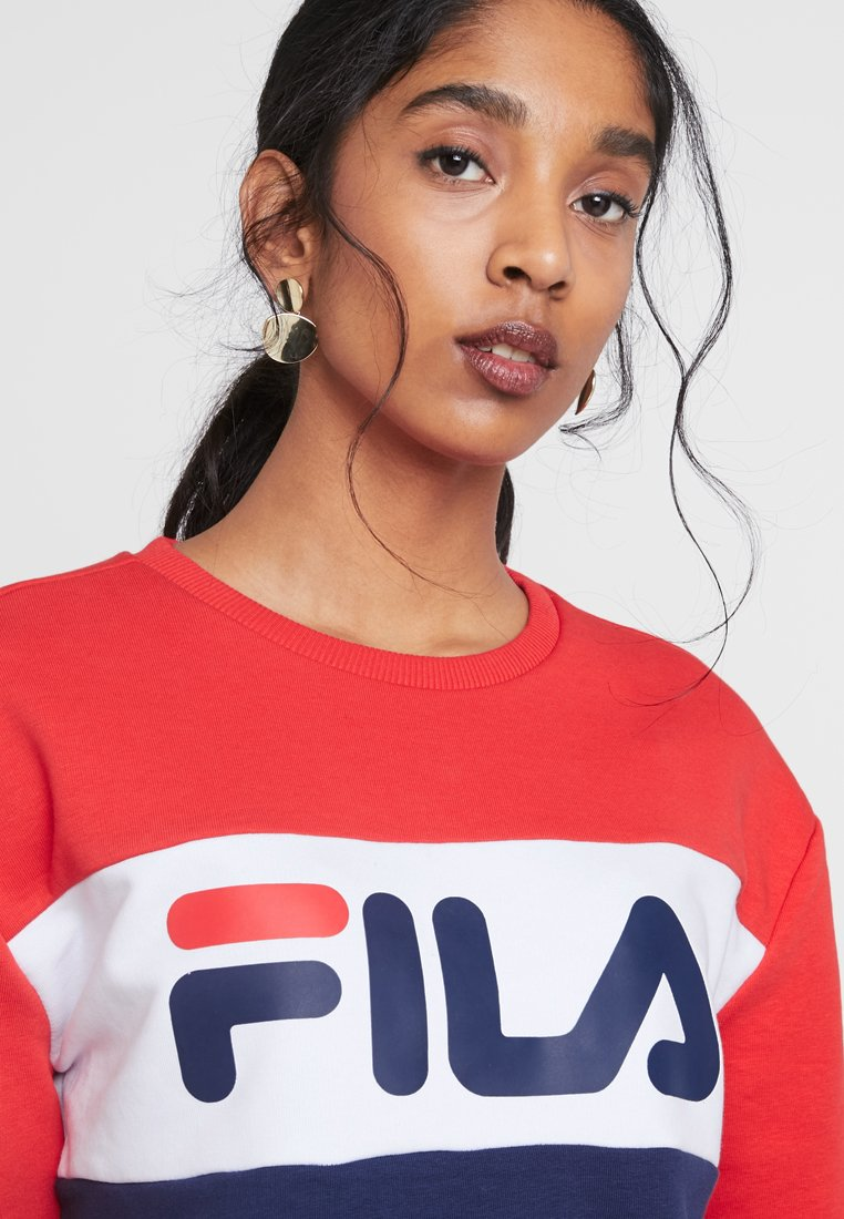 Fila LEAH CREW Sweater dark bluetrue redbright white