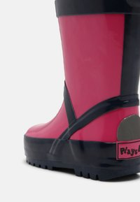 Playshoes - UNISEX - Wellies - pink/marine - 4