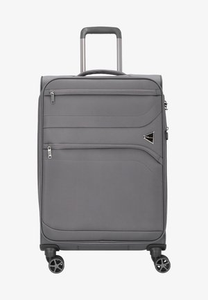DEVOTION - Wheeled suitcase - anthracite