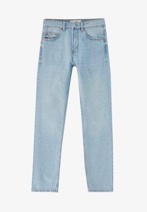 Jeans straight leg - stone blue denim