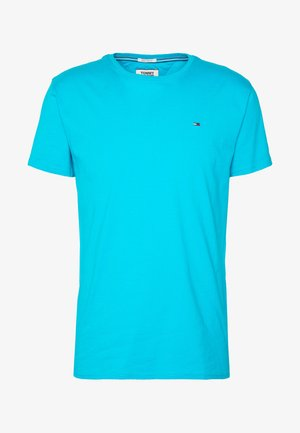 ESSENTIAL SOLID TEE - Jednoduché triko - exotic teal