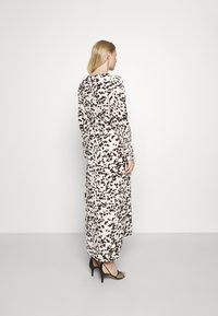 Glamorous Bloom - WRAP DRESS WITH TIE DETAIL - Maxi dress - cream brown abstract - 2