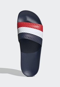 adidas Originals - ADILETTE SLIDES - Sandali da bagno - red - 2