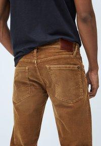 Pepe Jeans - Straight leg jeans - marrón tan - 4