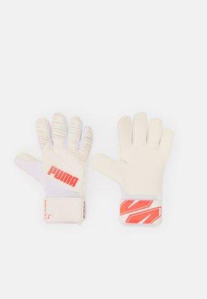 ULTRA GRIP UNISEX - Goalkeeping gloves - red/white
