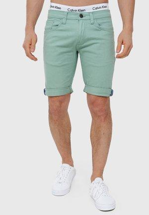 VILLEURBANNE - Short en jean - granite green