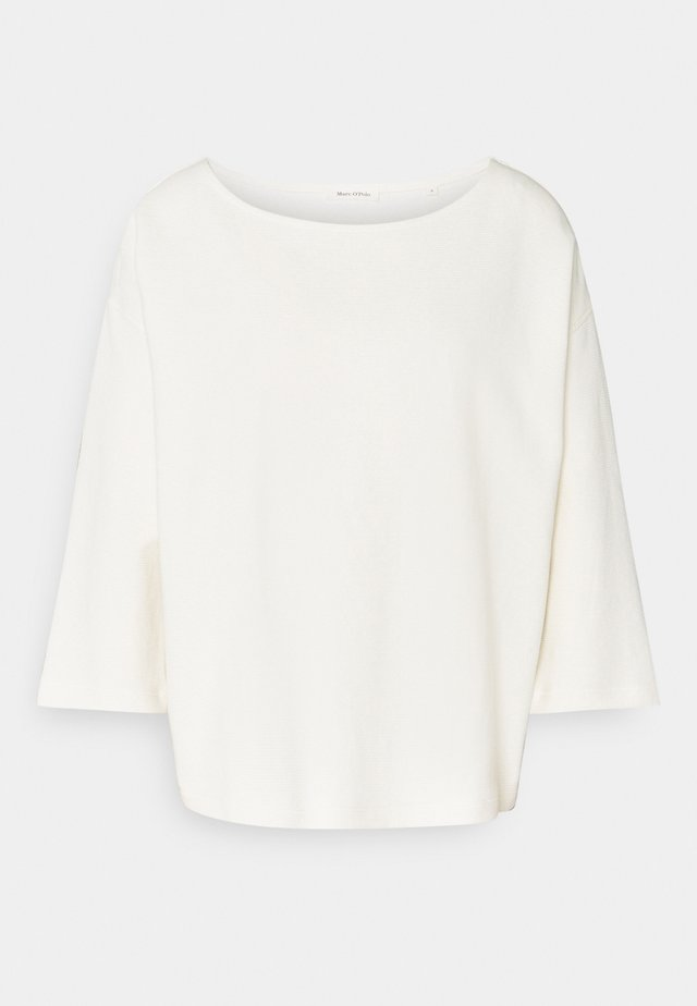 BOAT NECK - Camiseta de manga larga - off white