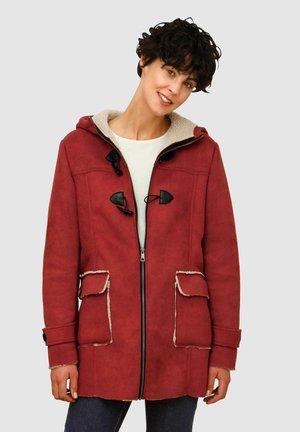 Winter coat - terracotta