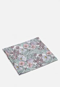 Tory Burch - DOUBLE SIDED HIBISCUS SQUARE - Foulard - white/lavender - 0