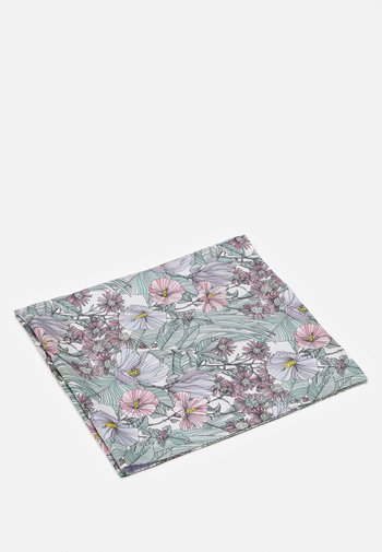 DOUBLE SIDED HIBISCUS SQUARE - Foulard - white/lavender