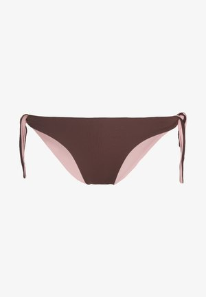 DOUBLE VISION RIBBON BRAZILIAN BRIEF - Bikini bottoms - pink powder