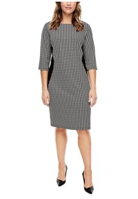 Triangle - Jersey dress - black houndstooth aop - 6