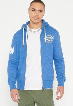 PREMIUM GOODS LIGHTWEIGHT  - Zip-up hoodie - sky blue marl