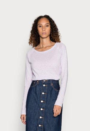 HEAVY LONGSLEEVE - Long sleeved top - lavender