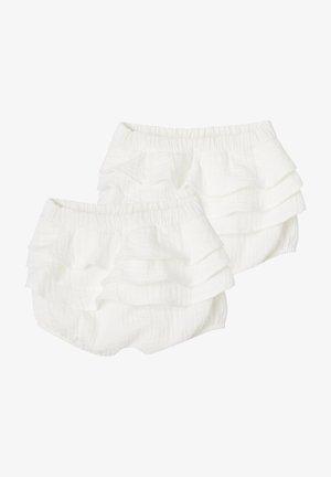 2ER-PACK - Pants - pack weiß