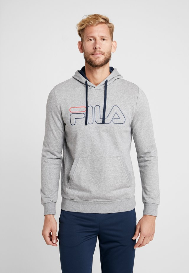 HOODY WILLIAM - Sweat à capuche - light grey melange