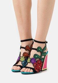 Kat Maconie - SELINA - Sandals - black/multicolor - 0