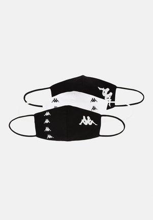 ZAFE 3 PACK UNISEX - Community mask - bright white/black