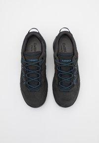Lowa - SIRKOS EVO GTX - Hiking shoes - graphit/blau - 3