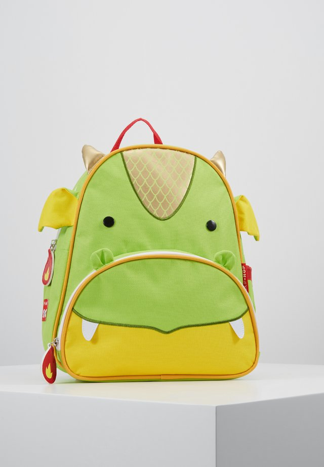 ZOO BACKPACK DRAGON - Rucksack - green