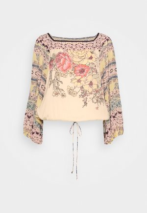 BLUE NILE TOP - Blusa - off white