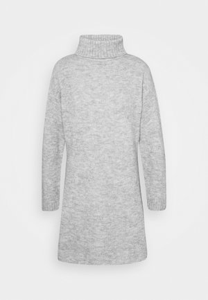 Jumper dress - mottled grey