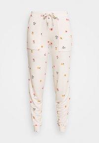 Marks & Spencer London - FLEXIFIT PANT - Pyjama bottoms - oatmeal mix - 3