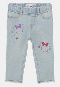 GAP - TODDLER GIRL MINNIE MOUSE ANKLE  - Slim fit jeans - blue denim - 0