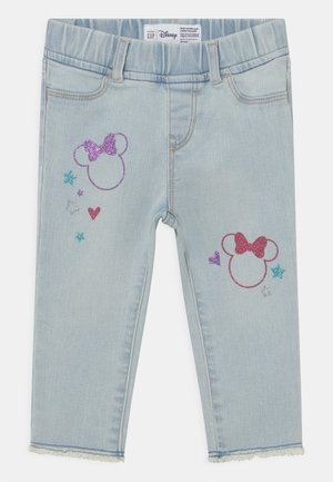 TODDLER GIRL MINNIE MOUSE ANKLE  - Slim fit jeans - blue denim