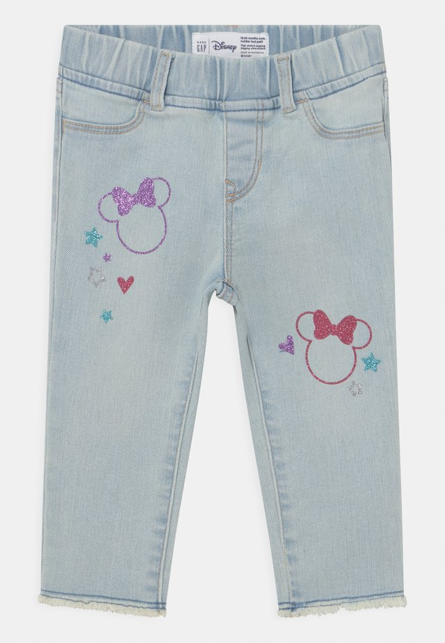 TODDLER GIRL MINNIE MOUSE ANKLE  - Jeans slim fit - blue denim