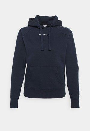 HOODED - Luvtröja - dark blue